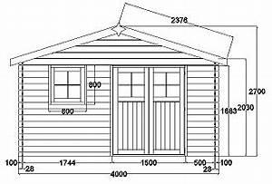 plan cabane de jardin cabane de jardin With plan de cabanon de jardin