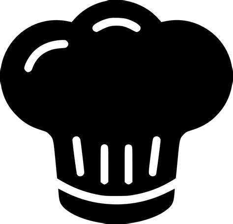 pictogramme cuisine chef hat svg png icon free 443286 onlinewebfonts com