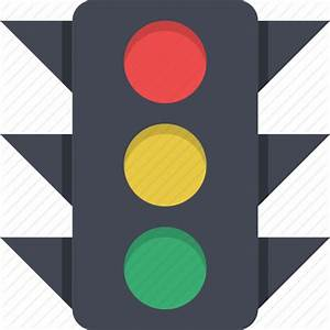 Regulation, street light, traffic, traffic lights icon ...