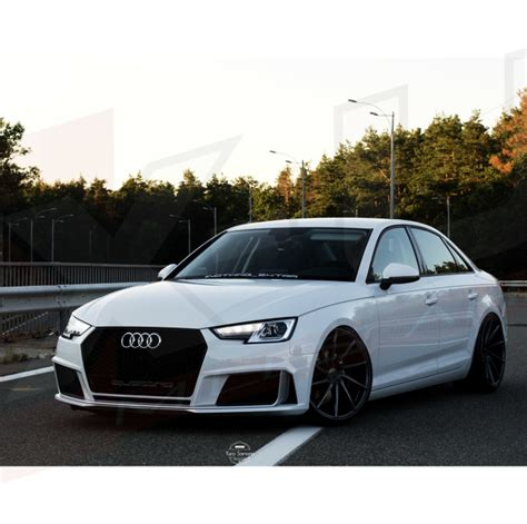 rs style  front bumper upgrade  audi