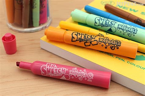 sketch scented marker stix holiday  color set