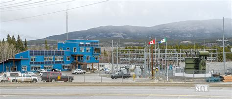 whitehorse daily star outage occurred  crew worked