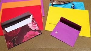 Comment Fabriquer Une Enveloppe : comment faire une enveloppe facile et sur mesure youtube ~ Melissatoandfro.com Idées de Décoration
