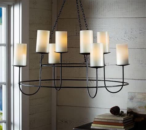 hanging candelier pottery barn