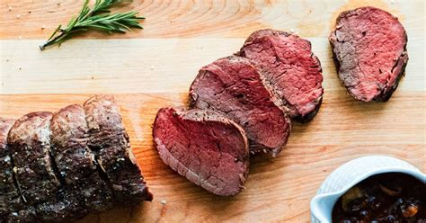 Beef tenderloin with roasted pepper & olive sauce. Slow-Roasted Beef Tenderloin with Red Wine Mushroom Sauce Recipe | Yummly