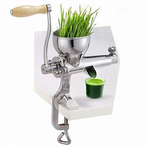 304 Stainless Steel Manual Wheatgrass Juicer Healthy Wheat