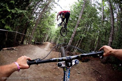 Mountain Biking Photos Captured With A Chest-mounted Dslr