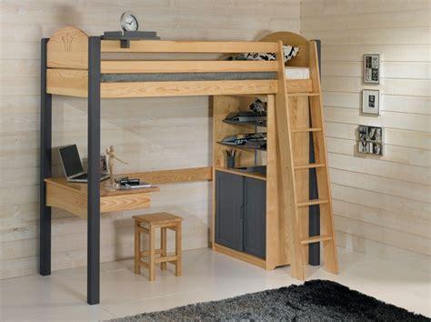 lit mezzanine 2 places avec bureau chambre avec lit mezzanine 2 places chambre idées de