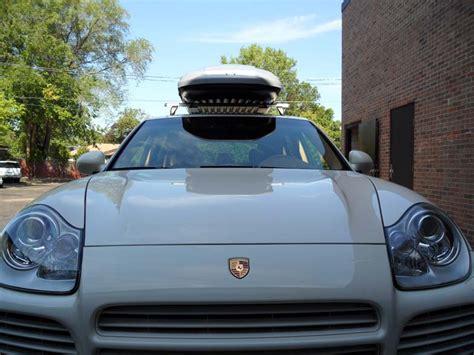 Cayenne Cargo Space by Porsche Cayenne Roof Rack Cargo Box