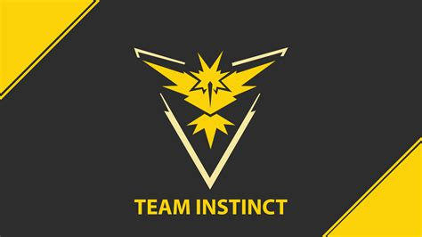 team instinct pokemon  team yellow game  wallpaper