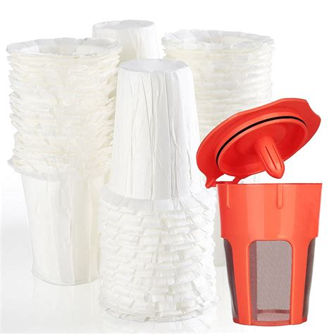 Paper coffee filters have been used as a traditional way to brew coffee and have existed for many decades. 100pcs Disposible Paper Coffee Filters 1pcs Reusable K Carafe Filter Keurig 2.0 For Keurig ...