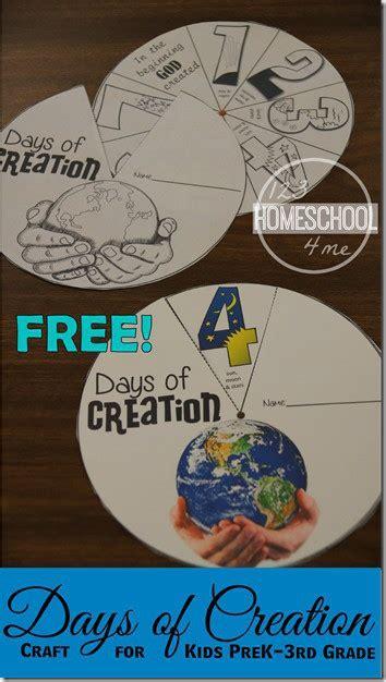 printable creation craft  kids  homeschool