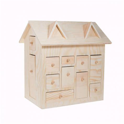 calendrier de l avent maison calendrier de l avent maison en bois 3d