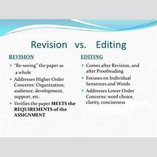 Differences Among Revision, Editing, Proofreading Owlcation