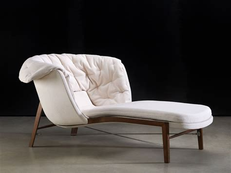 chaise longue en tissu cleo chaise longue by rossin design archirivolto