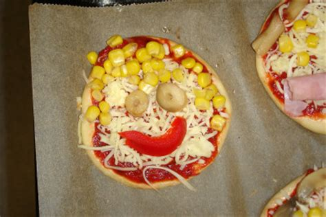 pizzagesichter backen kinderspiele weltde