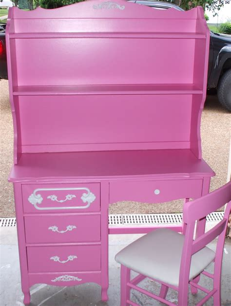 wood new paint pink furniture
