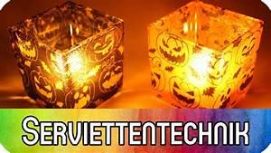Basteln Mit Serviettentechnik : diy gl ser mit serviettentechnik dekorieren spukige ~ A.2002-acura-tl-radio.info Haus und Dekorationen