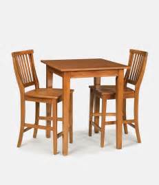 home styles arts crafts cottage oak bistro table set