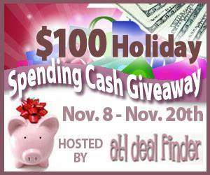 Blogger Opp: Join the $100 Holiday Spending Cash Giveaway ...