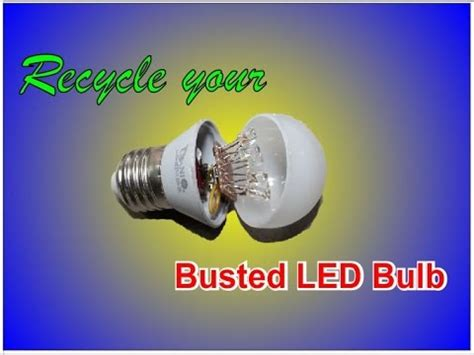 light bulb awesome recycle led light bulbs how to