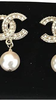 Chanel Diamond Logo Pearl Earrings - Tradesy