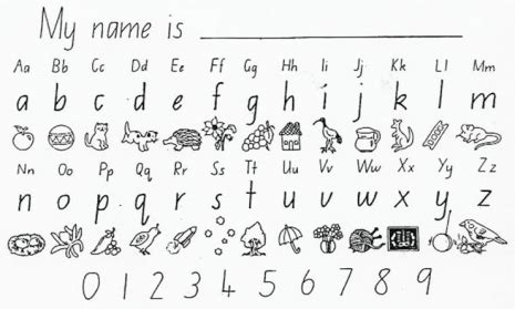 nsw foundation handwriting worksheets google search