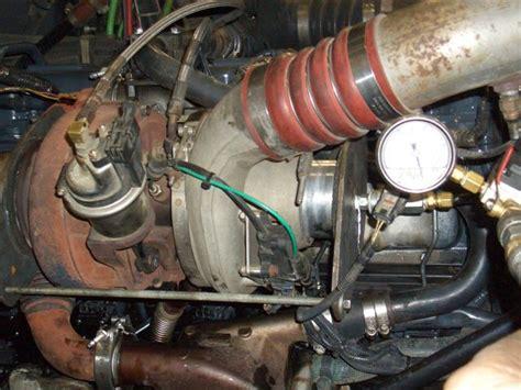 mack  oil coming  blow  tube engine