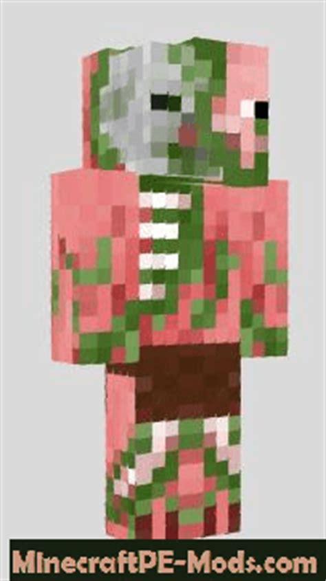 humanoid mobs skins pack  minecraft pe