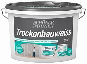 Schöner Wohnen Weiß : sch ner wohnen farbe innenfarbe trockenbauwei 10 l online kaufen otto ~ Watch28wear.com Haus und Dekorationen