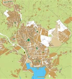 Cartagena Spain City Map