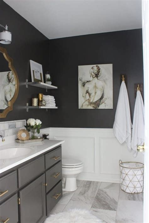 black and gray bathroom ideas the best things you can do to your bathroom for 100