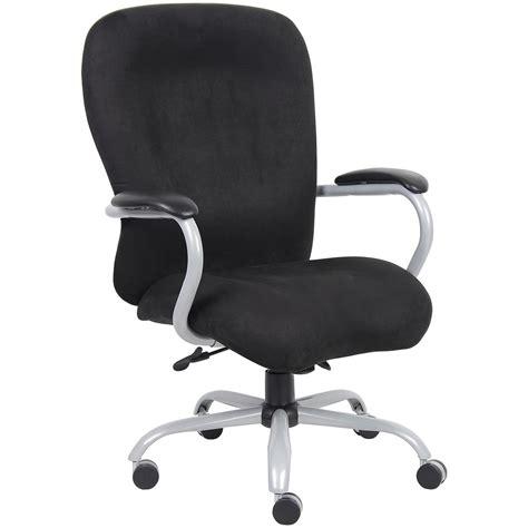boss heavy duty microfiber executive chair 597616