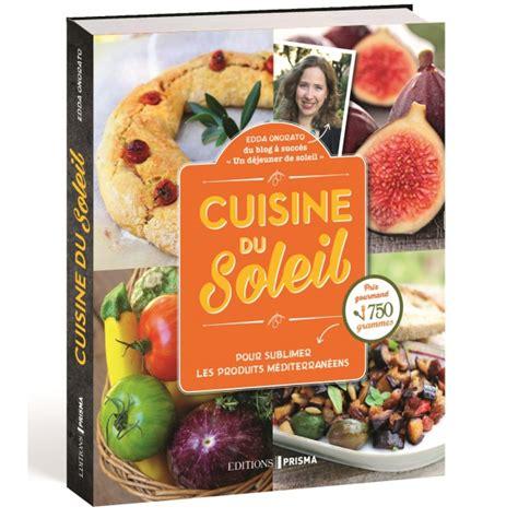 editions prisma livre cuisine du soleil