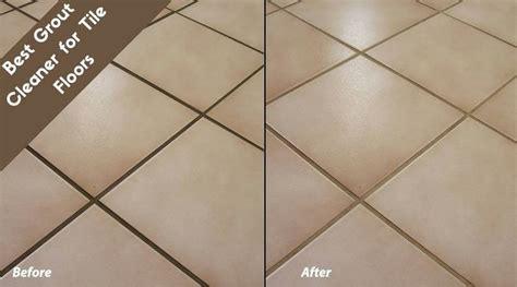 best grout cleaner for tile floors