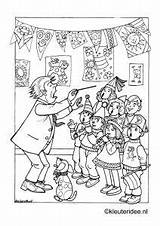 Kleurplaat Choir Coloring Kinderkoor Kleuteridee Children Printable Kleurplaten Tot Ziens Muziekinstrumenten Coloringpage Stam Kleuters Dagmar Verhuizen Singing Ausmalbilder Kleurplatenl Opera sketch template