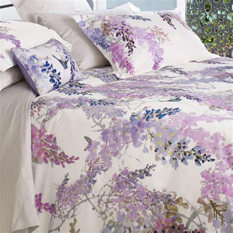 sanderson wisteria falls quilt cover jarrold norwich