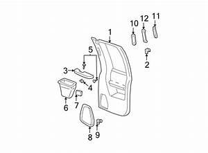 Gmc C1500 Cover Nut  Door Armrest Nut  Door Interior Trim