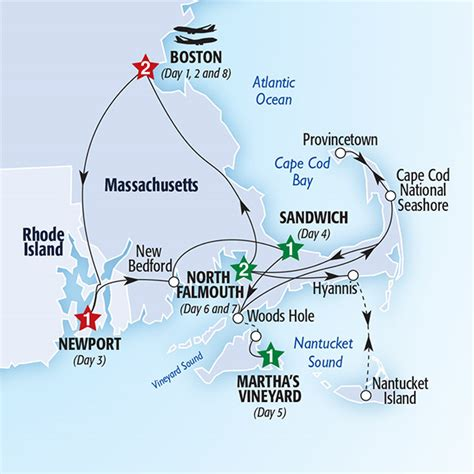 Boston Cape Cod And The Islands (summer 2017) Insight