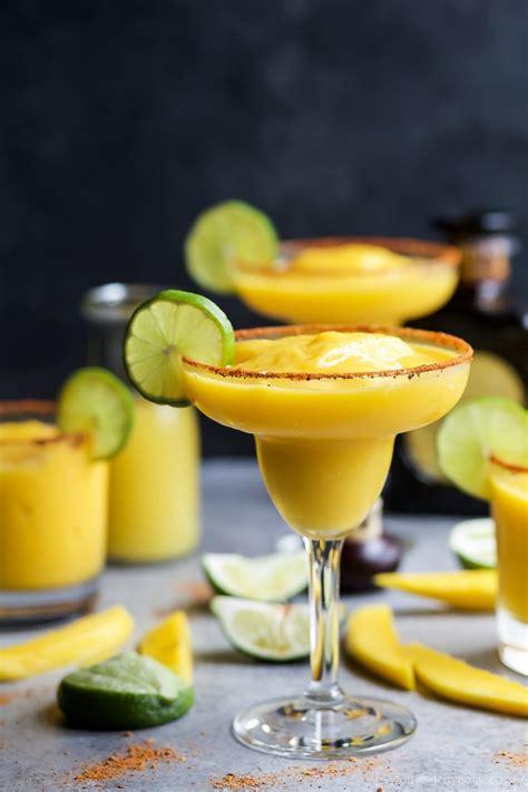 Frozen Mango Margarita Easy Healthy Recipes