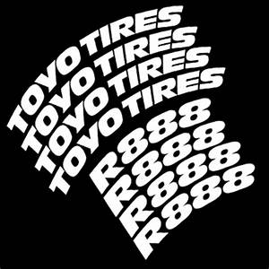 toyo tires proxes r888 racetrack autocross only tire With toyo r888 white lettering