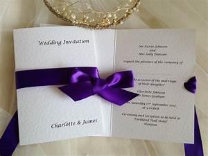 wrap ribbon wedding invitations wedding invites With how to make wedding invitations with ribbon