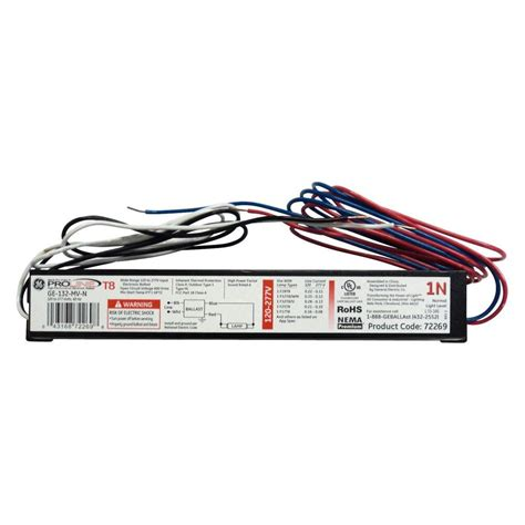 3 l t8 ballast ambistar 120 volt 3 to 4 l t8 instant start electronic
