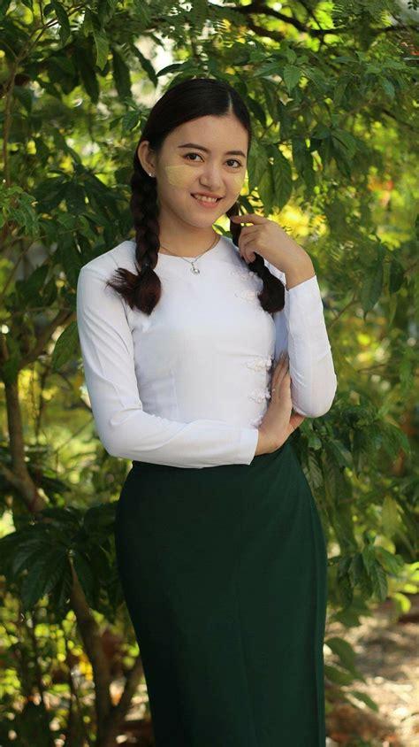 beautiful myanmar dress aye wut yee thaungs beautiful