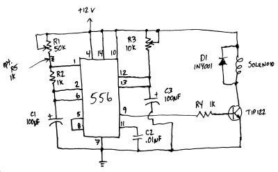 Solenoid Timer Astable Mode How Can Achieve
