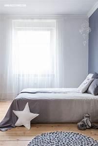 Grau Blaue Wand : die besten 25 graue vorh nge ideen auf pinterest grau gelbe schlafzimmer hellgraues ~ Watch28wear.com Haus und Dekorationen