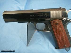 Colt 1911a1 Commercial  38 Super Pistol 1950