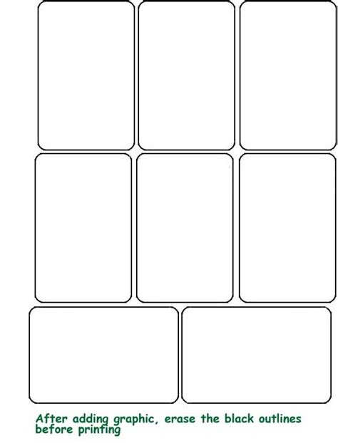 playing card template peerpex