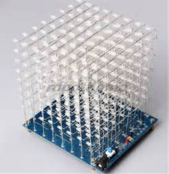 3d Lightsquared 8x8x8 Led Cube Instructions