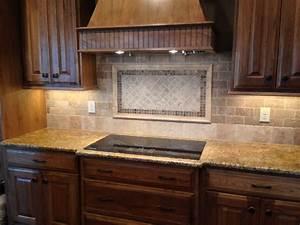 Tile kitchen backsplash natural stone for Natural stone kitchen backsplash